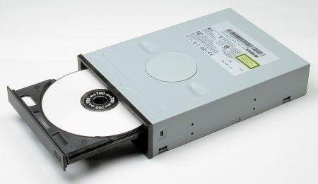 CD-ROMドライブ (CD-ROM drive)